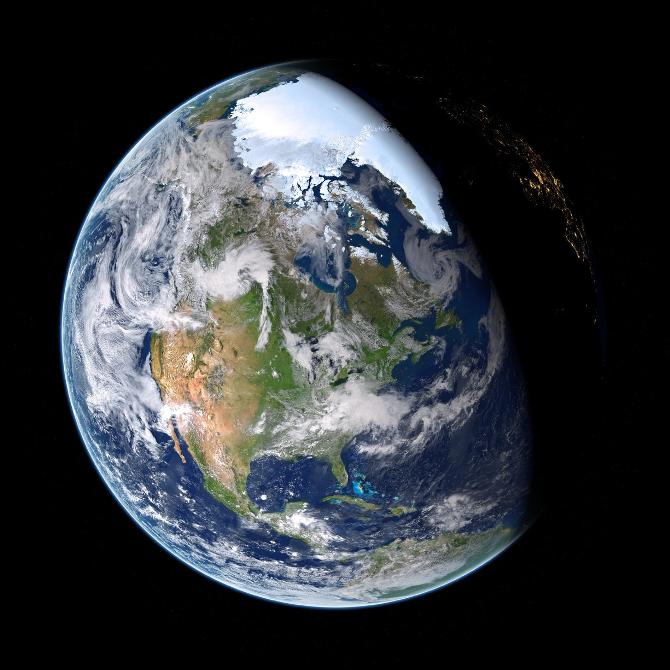 empreinte écologique et 2 Terres