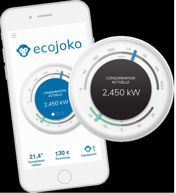 application pour économies d'énergie