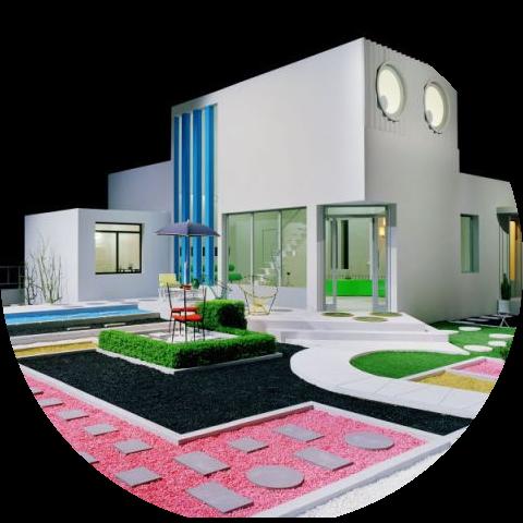 Maison et domotique à la Villa Arpel